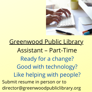 Now Hiring: Part-time Library Assistant